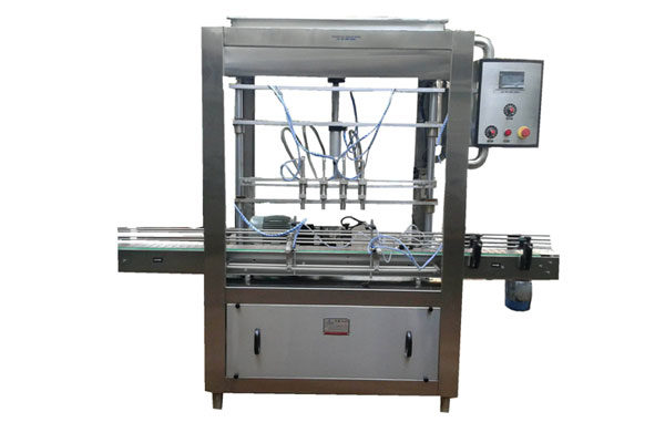 Automatic Digital 4-Head Servo Bottle E-Filling Machine
