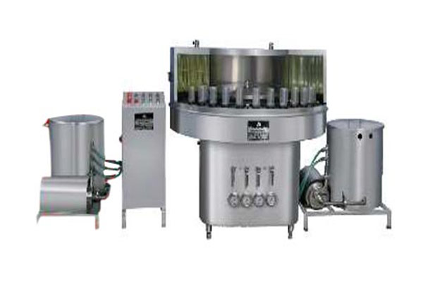 Semi Automatic Rotory vial Bottle Washing Machine
